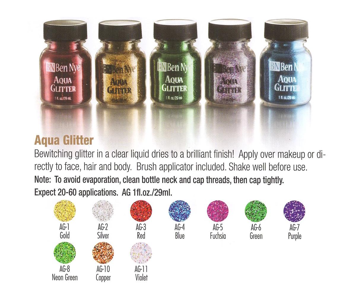 Ben Nye - Aqua Glitter