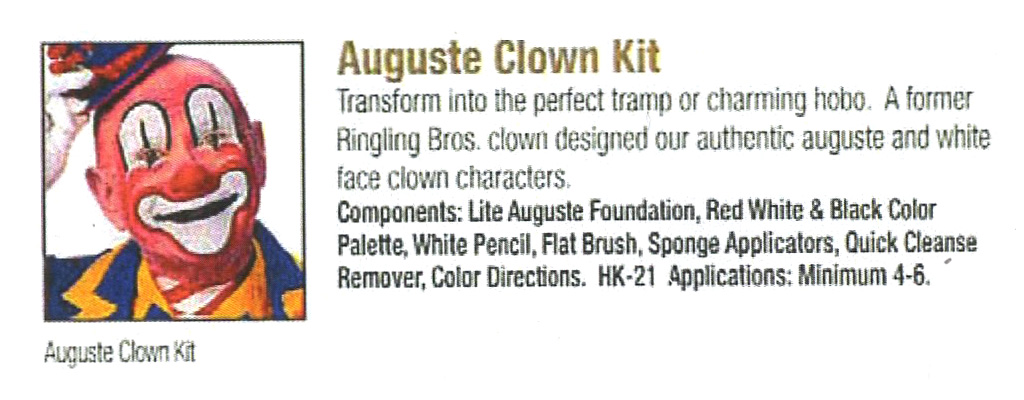 Ben Nye - Auguste Clown Kit