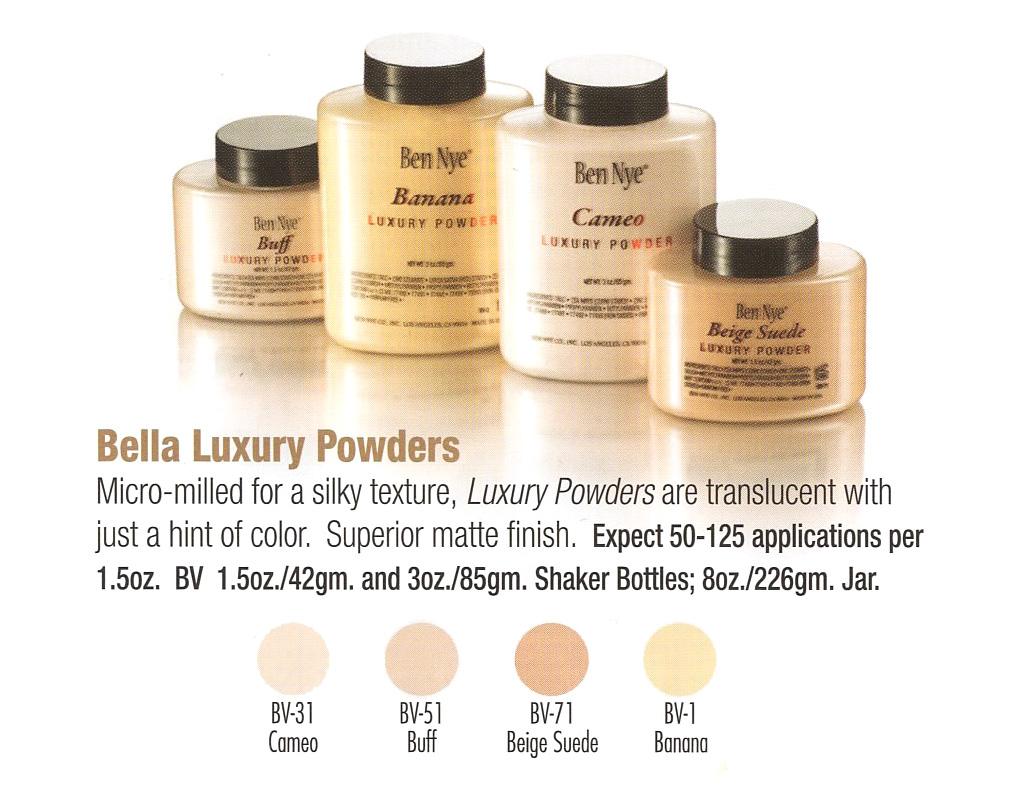 Ben Nye - Bella Luxury Powders