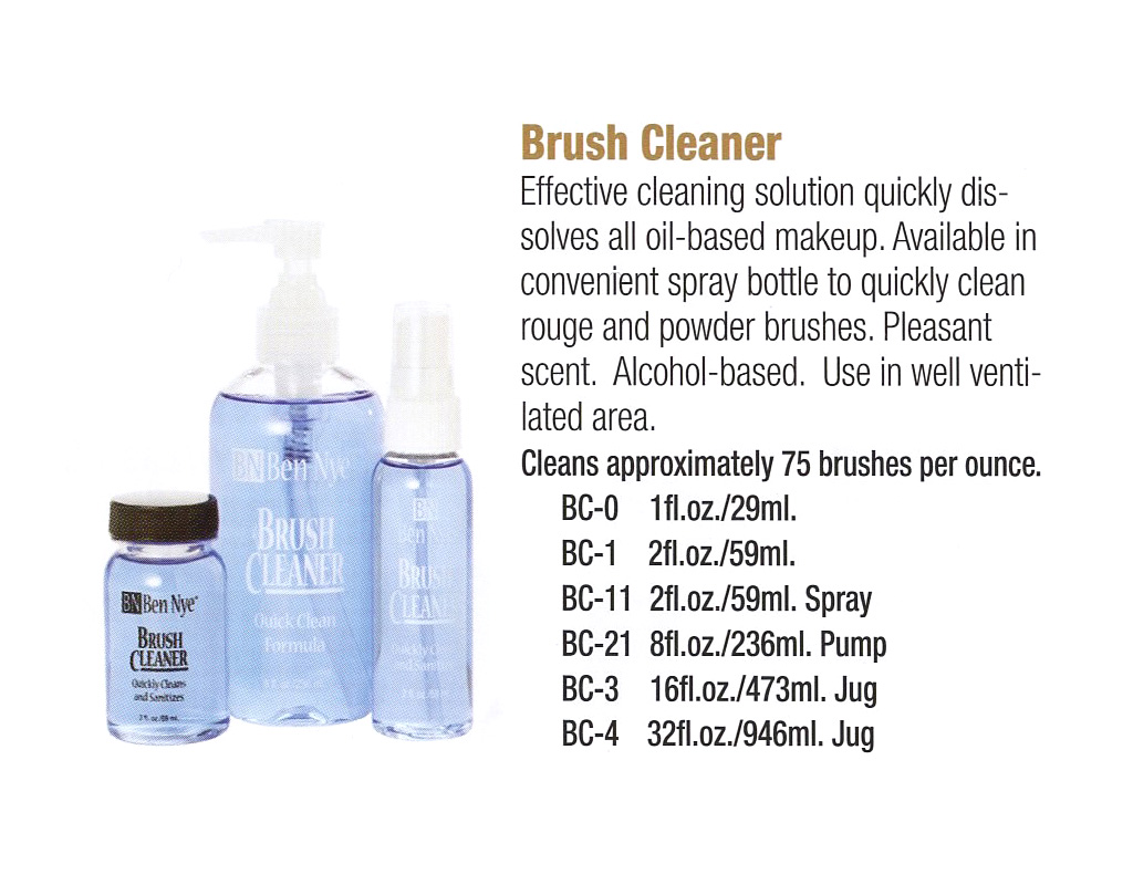 Ben Nye - Brush Cleaner