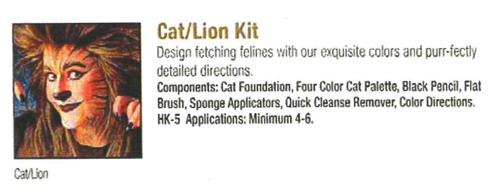 Ben Nye - Cat Lion Kit