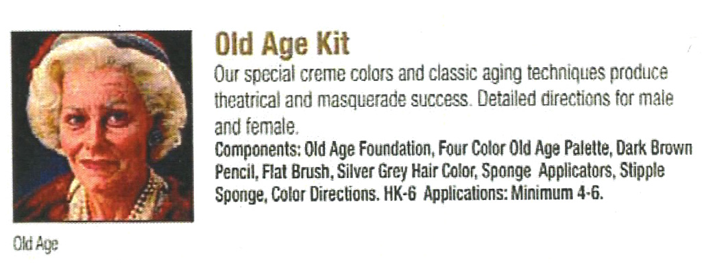 Ben Nye - Old Age Kit