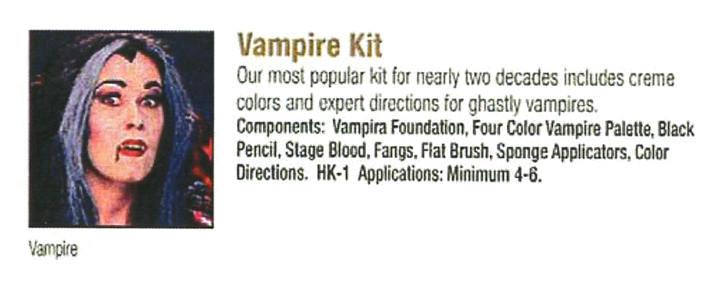 Ben Nye - Vampire Kit