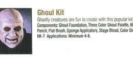Ben Nye - Ghoul Kit