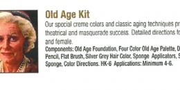 Ben Nye - Old Age Kit