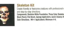 Ben Nye - Skeleton Kit