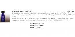 Mehron - AdMed Liquid Adhesive