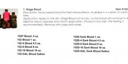 Mehron - Stage Blood
